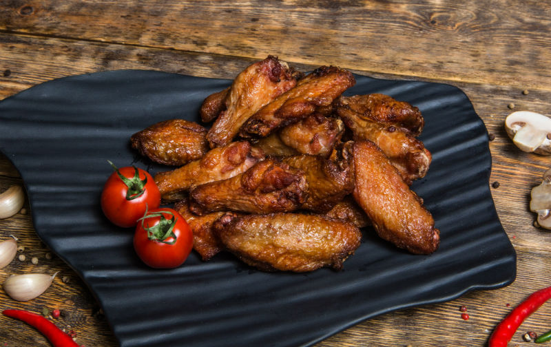 Запеченные куриные крылья